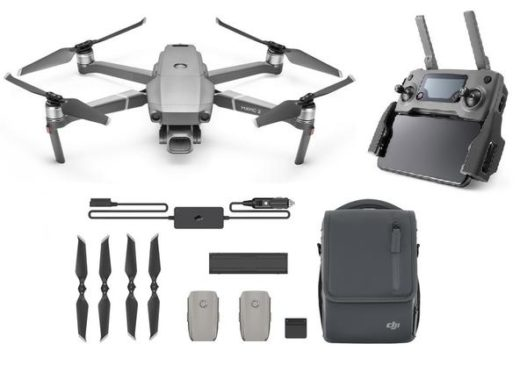 Mavic 2 Pro drone and fly more combo accessories